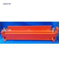 1 ud. Máquina de plegado Manual/dobladora ZB-L600B (tipo flip)  espesor aplicable 1 2mm  600mm de ancho máximo de flexión
