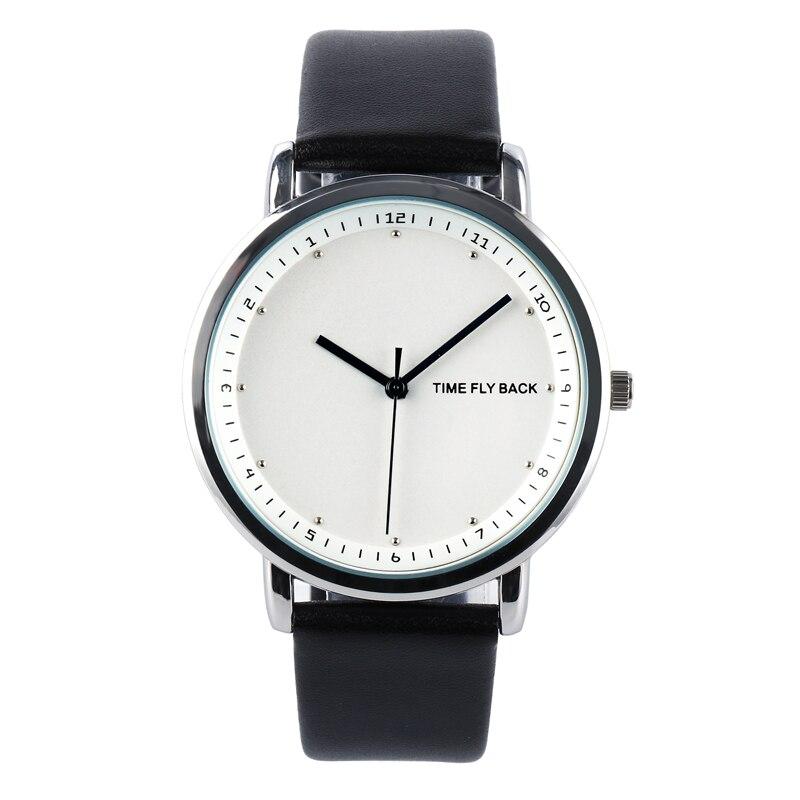 ? Pattern Individualization Fashion Time Reflux Pointer Retrograde Man Women's Quartz Watch Student Watch Birthday Gift Watch
