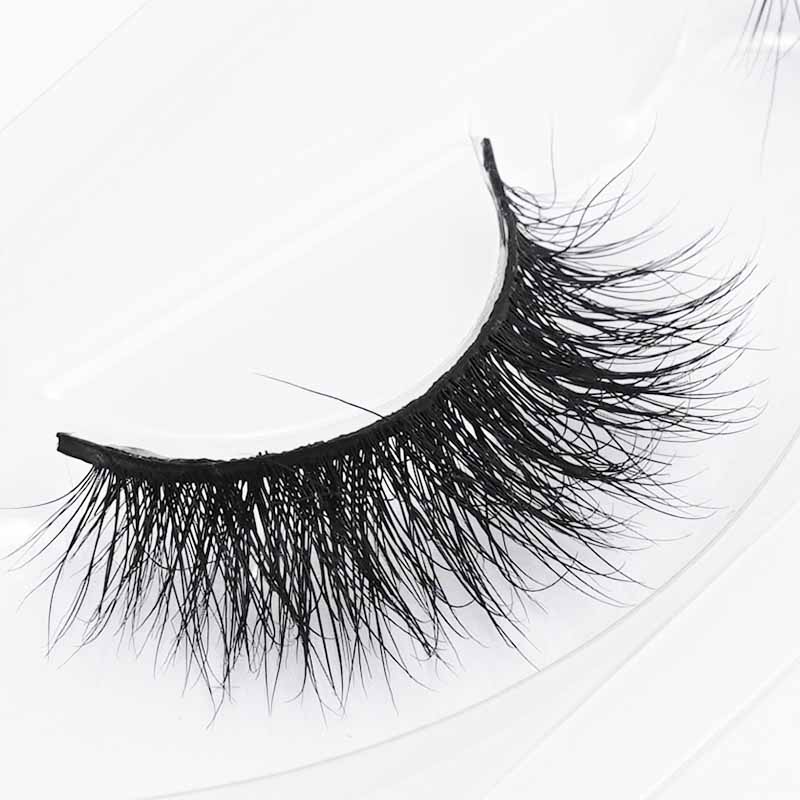 Fake Eyelashes Makeup Organizer 1Pairs Long Cross False Natural Thick Black Eye Lashes