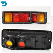 PAJERO V31 V32 V33 REAR BUMPER LAMP montero V43 Brake light rear fog lights for Mitsubishi Pajero WITHOUT BULB BUY 2 FOR 1 PAIR