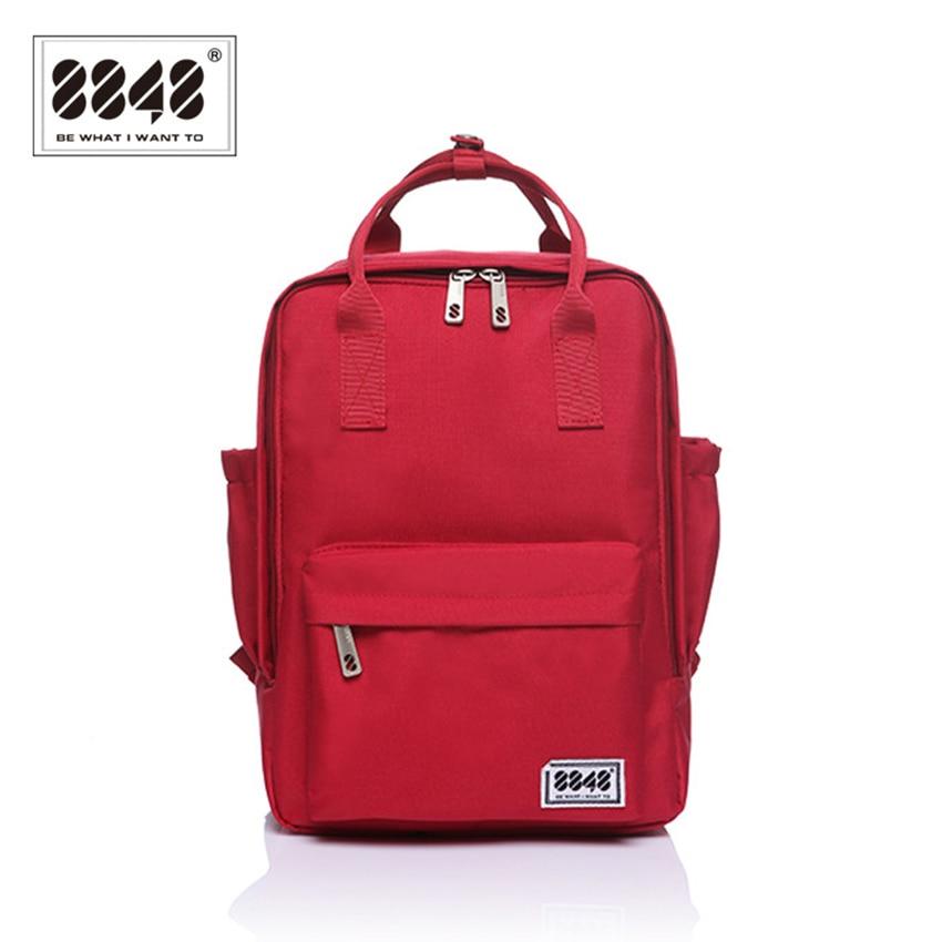 Mode rygsæk teenager pige skole taske mønster 8848 mærke rygsække blød håndtag 10 l kapacitet preppy stil afslappet s15008-5