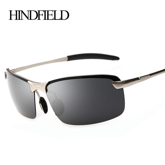40dc2994ceb HINDFIELD 2017 New Brand Designer Polarized Sunglasses Men Driving Mirrors  Coating Sun Glasses Male Outdoor Sports Eyewear UV400