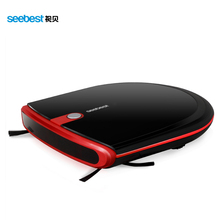 Seebest E630  Mini Robotic Vacuum Cleaner Auto Recharge Super Slim Robot Cleaner 6.3cm Height with 2 Side Brush and  Auto Rechar