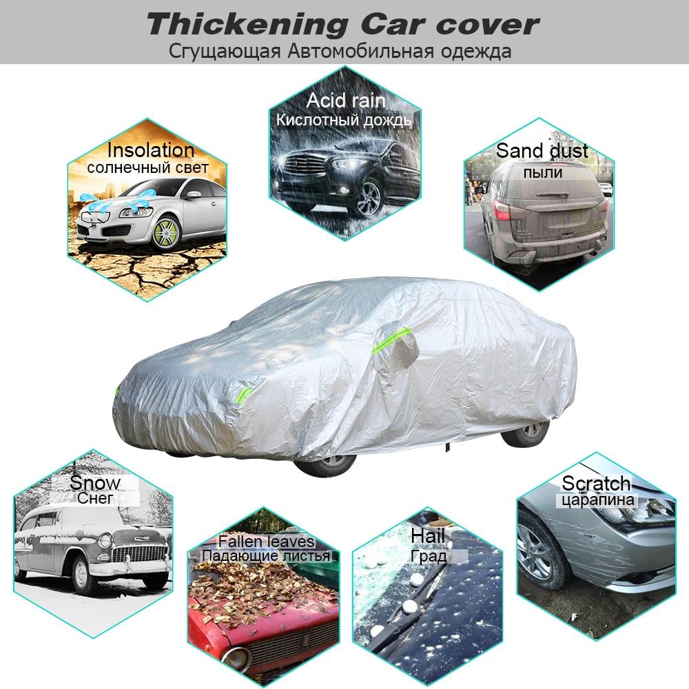 Outdoor Car Cover Waterproof Rain UV For ALFA ROMEO 159 SPORTWAGON