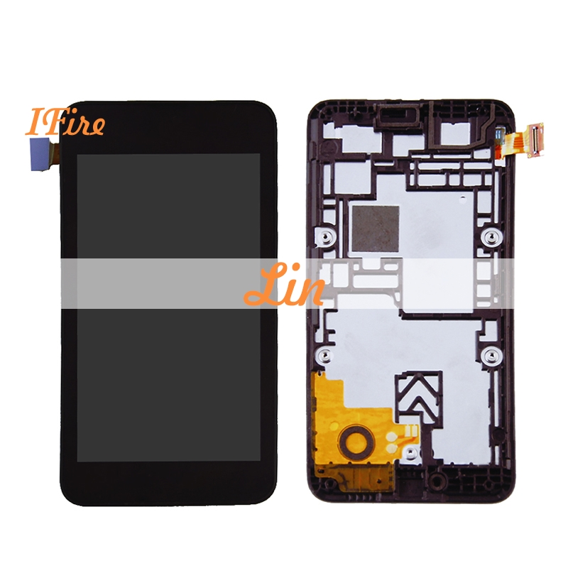 1PCS IFire 4.0' lcd display For Nokia Lumia 530 lcd display screen with touch screen Digitizer assamble free shipping+tools