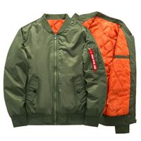MA 1 Thick Winter Flight Jacket High Quality Tactical Air Force Bomber Jacket Military Padded Airborne Flight Army Coat