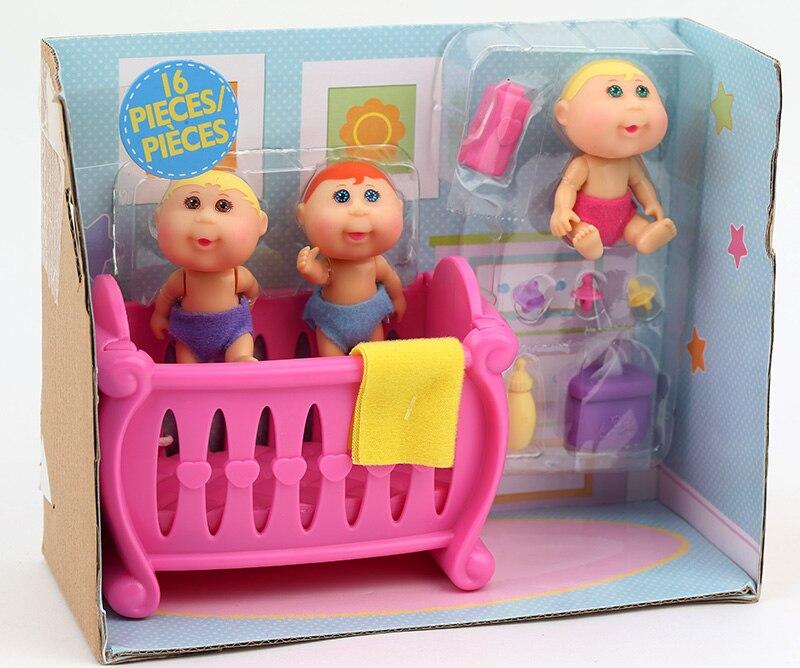 Orijinal Şirin Kələm Patch Uşaqlar Evi oyuncaqlar dəsti uşaqlar - Kuklalar və kuklalar üçün aksesuarlar - Fotoqrafiya 3