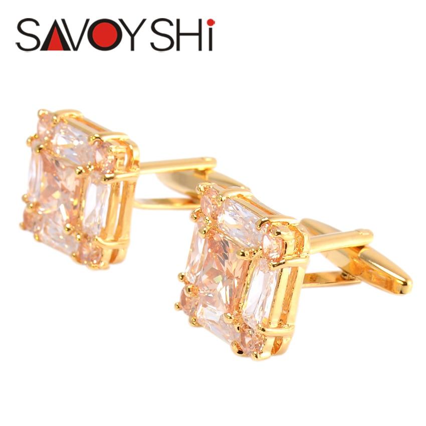 SAVOYSHI շքեղ ircիրկոնյան ճարմանդներ - Նորաձև զարդեր - Լուսանկար 3