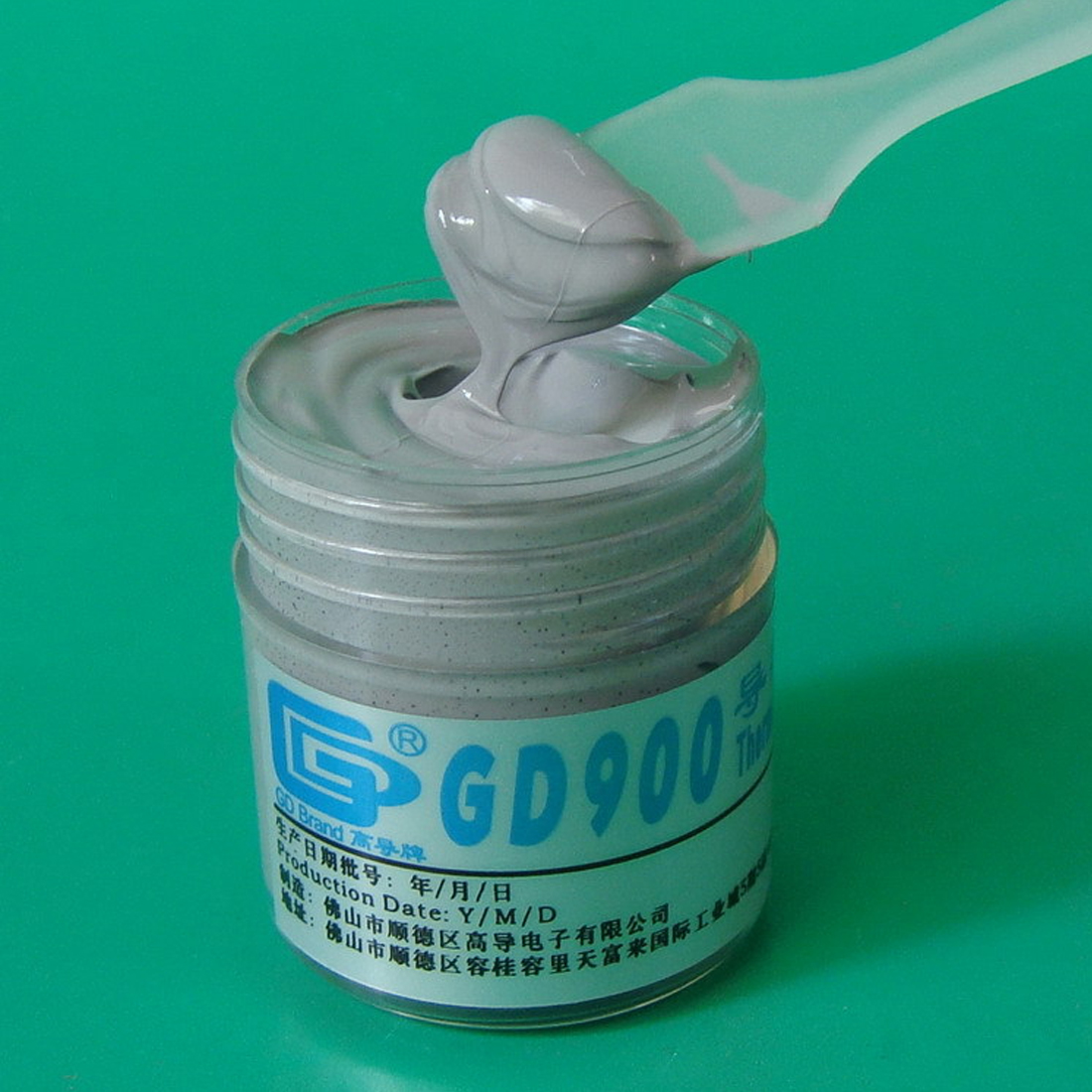 NOYOKERE חם תרמי להדביק סיליקון GD900 צלעות קירור מתחם נטו משקל 30 גרם ביצועים גבוהים עבור מעבד CN30