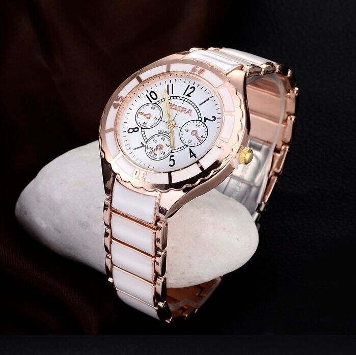 Rose Gold Watch Women Watches Full Steel Women's Watches Ladies Watch Clock reloj mujer montre femme relogio feminino drop ship mulilai 2018 dress women watches full steel rose gold bracelet wristwatch business quartz ladies watch montre relogio feminino