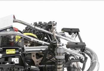 Fast detachable metal roll cage for 1/5 hpi rovan km baja 5b ss rc car gas parts