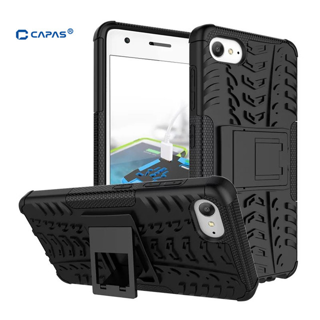 the best attitude 609a1 72016 US $4.99 |CAPAS for Lenovo ZUK Z2 Case Cover Armor TPU + PC 2 in 1 with  Stand Back Cover for ZUK Z2 Plus Case Shockproof Protective Shell-in Fitted  ...
