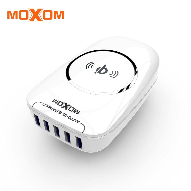 MOXOM 30W font b Wireless b font font b Charger b font Pad Fast Charging Mobile