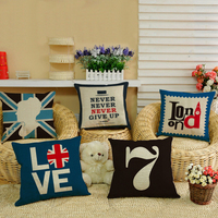 Decorative Pillow/Neck Pillow with Pillow Filling and Pillows Cover Fast England Style pillow for Decoration