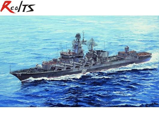 RealTS Trumpeter 05722 1 700 Russian NAVY Slava Class Cruiser Marshal Ustinov plastic model kit