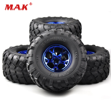 3004B 4 Pce/Set Bigfoot Monster Ruber Tires and Wheel Rims with 12mm Hex fit 1:10 Scale HSP HPI Racing Car Model Accessories 4pcs set rc parts 12mm hex bead loc short course ruber tire rims for hpi hsp rc 1 10 traxxas slash