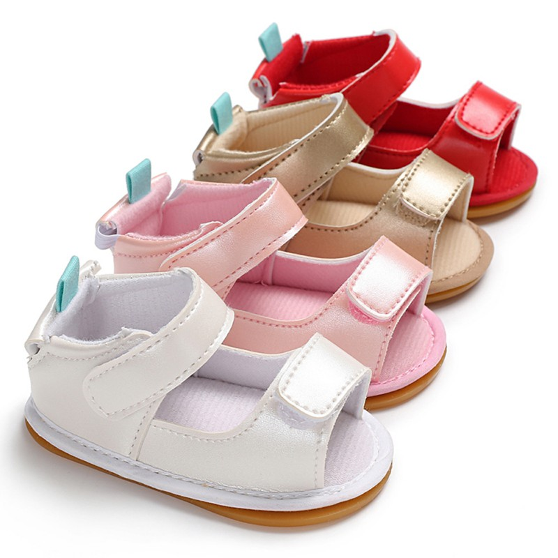 Baby Sandals Summer Baby Shoes Fashion Hollow PU Baby Boy Girl Sandals Newborn Beach Sandals Baby Girl Shoes