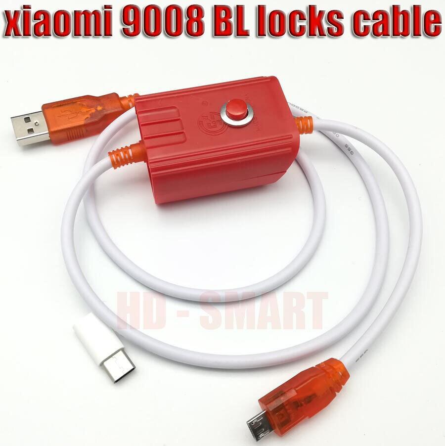 Adaptador gratis + cable de flash profundo para teléfono Xiaomi Redmi puerto abierto 9008 compatible con todos los cables EDL de bloqueo BL + seguimiento NO