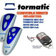 For TORMATIC MAX 43-2,MAX 43-4,NOVO 502 2-CH,NOVO 504 4-CH r