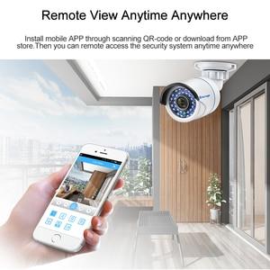 Image 5 - Techage H.264 4CH 8CH 1080P HDMI AHD CCTV DVR NVR HVR 1080N P2P ענן אבטחת וידאו דיגיטלי מקליט עבור אנלוגי AHD IP מצלמה
