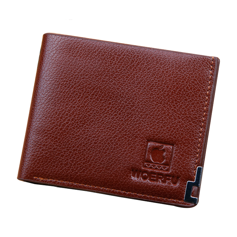 Men Wallet Leather Card Coin Holder Hot Sale 2017 Casual High Quality Soft Slim Dollar Price Money Pocket Male Purse Portomonee hot sale 2015 harrms famous brand men s leather wallet with credit card holder in dollar price and free shipping