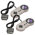 Nuevo Retro Clásico Controlador USB PC Gamepad Joypad Joystick Controladores Reemplazo para Super Nintendo SF SNES para Windows MAC