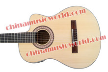 Afanti Music Hand-made Classical guitar with EQ (ACL-256)