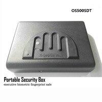 Portable Fingerprint Safe Box Solid Steel Security Key Lock Safes For Money Valuables Jewelry Pistol Box