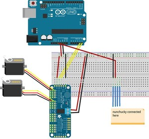 Image 5 - 16 kanal 12 bit PWM/Servo Driver I2C arayüzü PCA9685 modülü arduino veya ahududu pi kalkan modülü servo kalkan