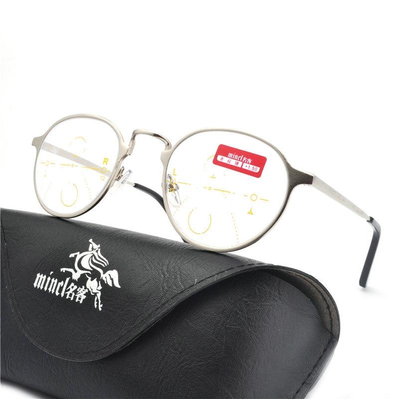 84b244323a400 MINCL Preto Popular Leitor de Ver Longe E de Perto de Óculos de Leitura  Multifocal