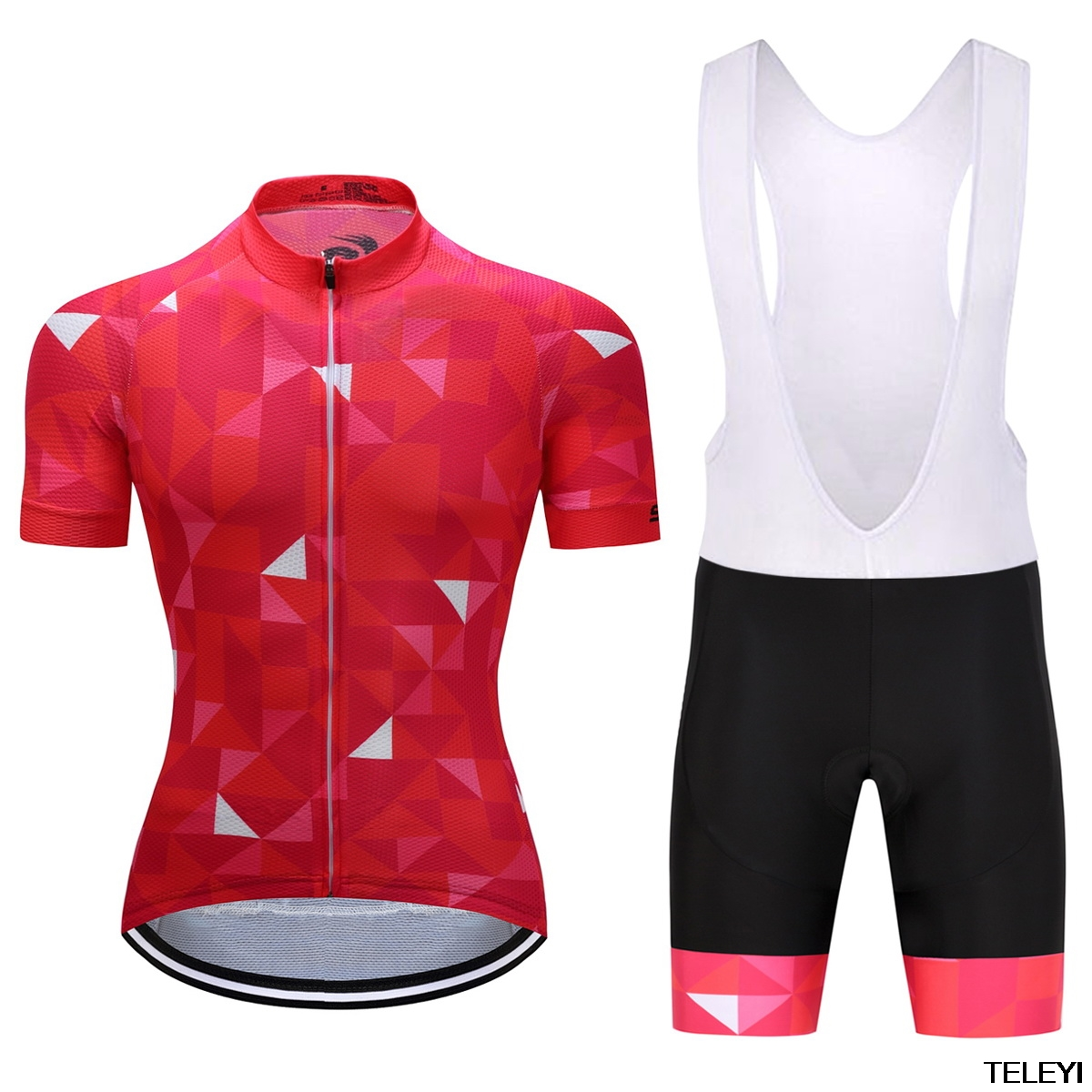 2017 teleyi Pro team bora cycling kit Red yellow short sleeve Jersey and bib  shorts sets Summer riding clothes ropa Ciclismo-in Cycling Sets from Sports  ... b988f6ef0