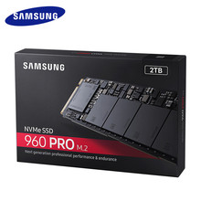 Samsung Internal SSD 960 PRO 512GB 1TB 2TB Internal Solid State Drives PCIe 3.0 x4 NVMe 1.2 Hard Disk for Laptop PC Computer