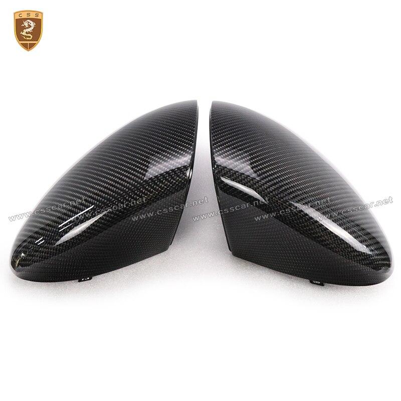 Углеродное волокно ABS CF боковое крыло зеркало крышки отделка замена стиль подходит для Porsche Cayenne Автомобиль Стайлинг 2011 2012 2013 2014