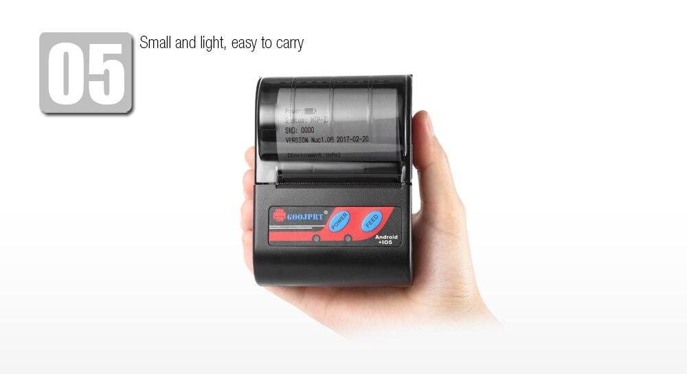 MTP 2 Bluetooth Mini wireless thermal printer portable printer (1)