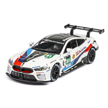 1:32 Super Sport-car M8 Diecasts Model Car Matel Cars Light Sound Alloy Toys For Kids Vehicles Gifts For Children Boy 1 32 diecasts