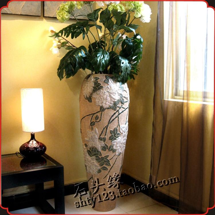 Living Room Unique Hydria Vase With Big Multicolor
