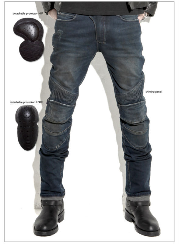 2016 Sale Pantalones Motocicleta Hombre Uglybros Featherbed Jeans The Standard Version Car Ride Trousers Motorcycle Drop And 2017 biker jeans mens high stretched zipper distressed jeans new fashion pantalones vaqueros hombre bmy1903