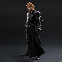 Cloud Strife anime model Final Fantasy movable action toy figure kids collecitble painted Christmas gift
