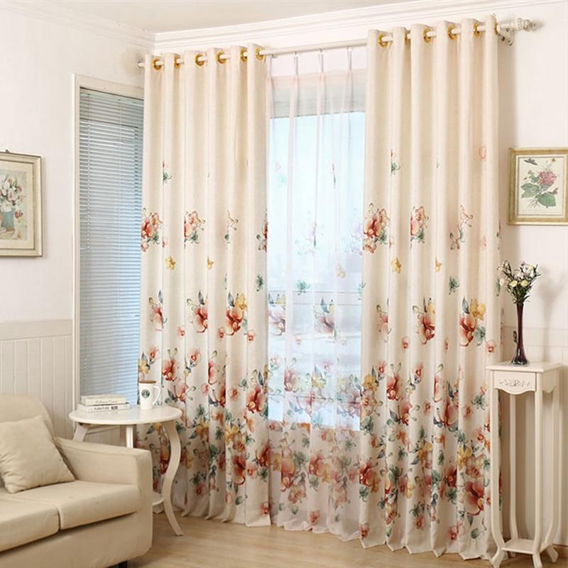 gedrukt schaduw venster verduisteringsgordijn stof moderne gordijnen woonkamer de slaapkamer keuken raam gordijnen blinds in gedrukt schaduw venster