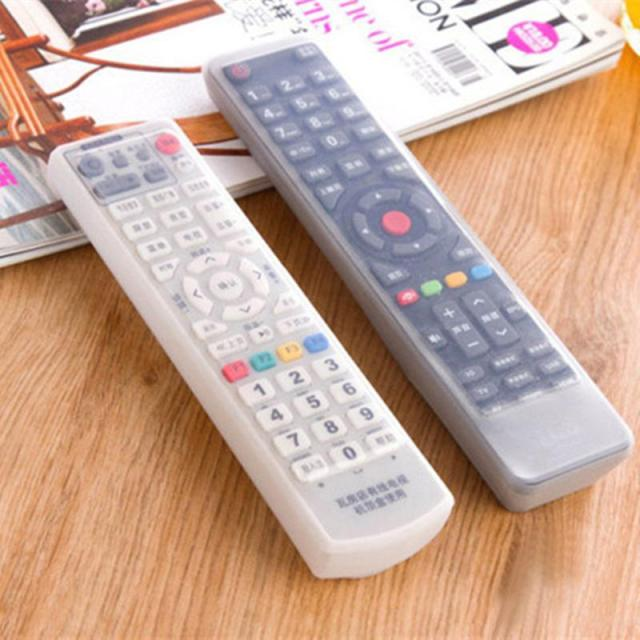 Waterproof Remote Control Dust Cover Protection Transparent Condition Remote Controller Silicone Protector Waterproof Organizer