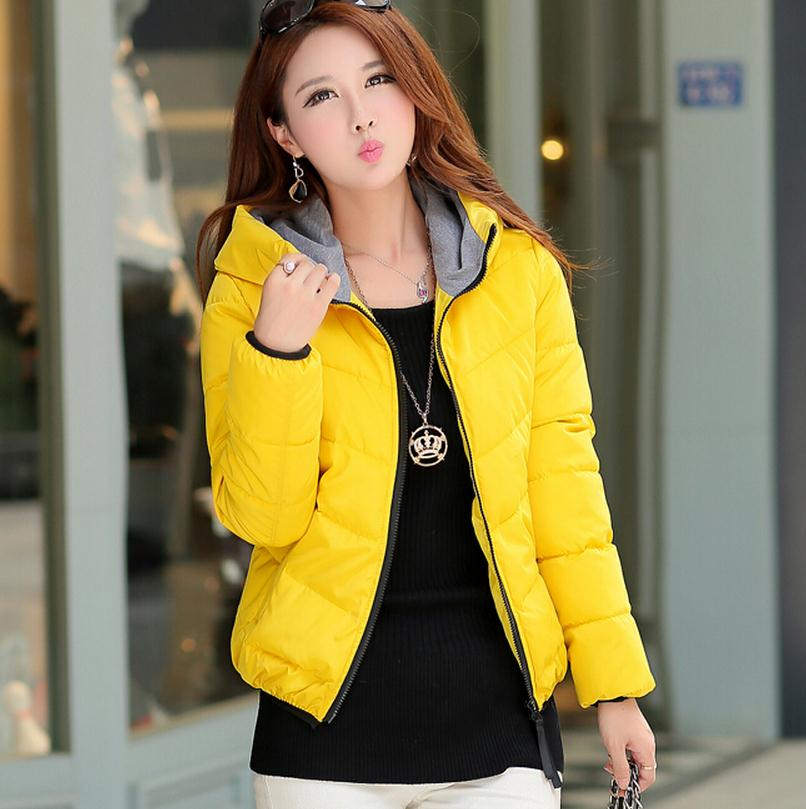 2016 female casual design short cotton-padded jacket cotton-padded jacket plus size wadded jacket female autumn and winter with linenall parkas original design 2016 brief loose plus cotton cotton padded jacket cotton padded wadded jacket female zi