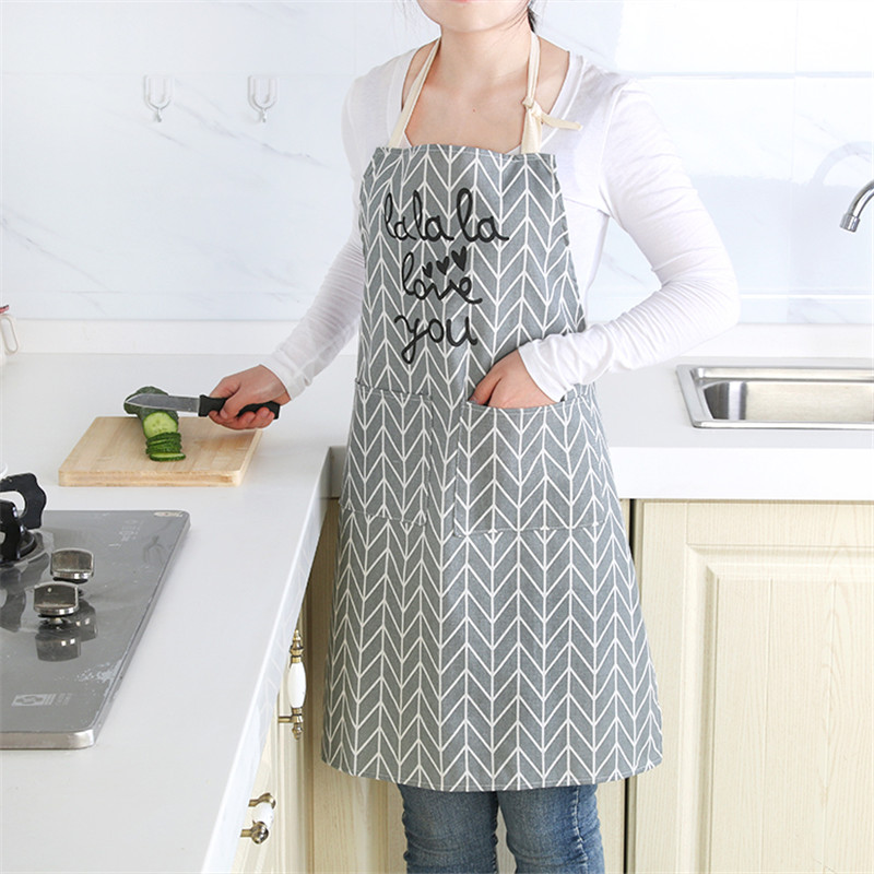 Power Source Nice New Minimalist Oil-proof Cooking Apron Waist Kitchen Home Cute Fashion Gown Home Décor