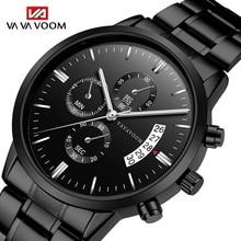 купить Relogio Masculino Mens Watches Top Brand Luxury Business Waterproof Wristwatch Relojes 2019 Watch Men Fashion Sport Quartz Clock по цене 911.19 рублей