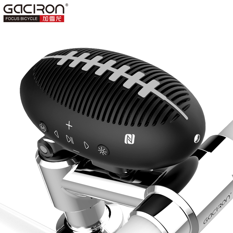 Gaciron Bluetooth Mini speaker Wireless Portable Bike Audio Cycling Bicycle outdoor Subwoofer Sound 3D stereo Music Camp Light t050 3w mini portable retractable stereo speaker w tf black golden 16gb max