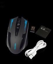 WEYES USB Para Juegos de Ordenador Ratón Inalámbrico Para PC Portátil Incorporado En la Batería Recargable Con Cable de Carga del envío