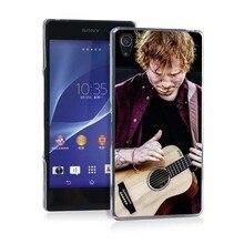 Ed Sheeran Guitar Pretty Funny UV Black Bag Case For Sony Z2