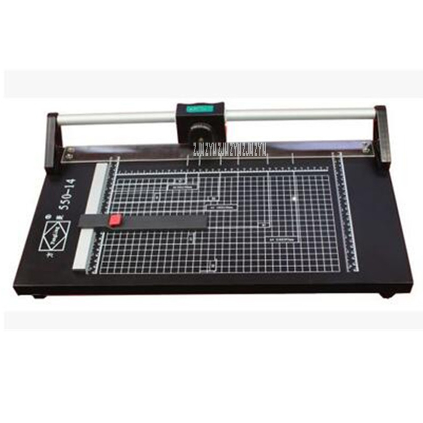24 inch rolling cutter rolling cutter iron knife pushing paper knife roller cutter A2 roller cutter paper trimmer new discount portable 48 inches 1200mm manual rotary professional paper pvc cutter trimmer sg 1200 roller paper cutter 8sheets
