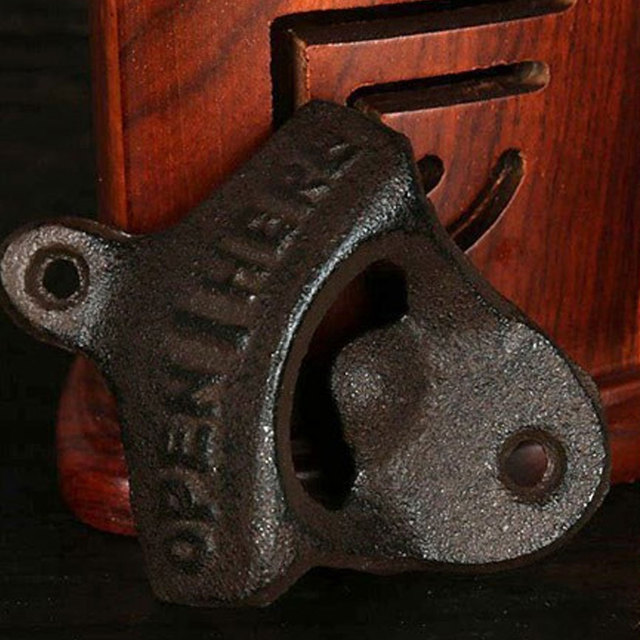 Wall Mounted Antique Style Bottle Opener 10
