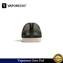10~30pcs/lot Original Vaporesso Zero Cartridge 2ml Pod 1ohm Ccell Coil Fit Vaporesso All In One Renova Zero Kit E-Cigarette Vape(China)