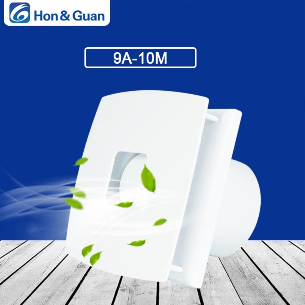 Hon&Guan 4 Silent Duct Extractor Fan Home Ventilation Exhaust Fans Bathroom Fan ( 10W; 110V/240V ) hon